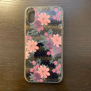 Floral IPhone X Phone Case